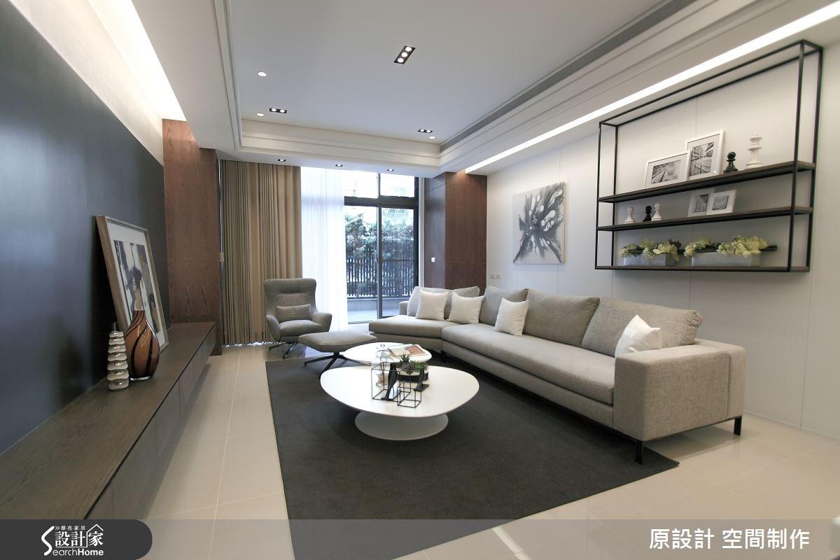 60坪新成屋(5年以下)_現代風客廳案例圖片_原設計 空間制作_原設計_14之3