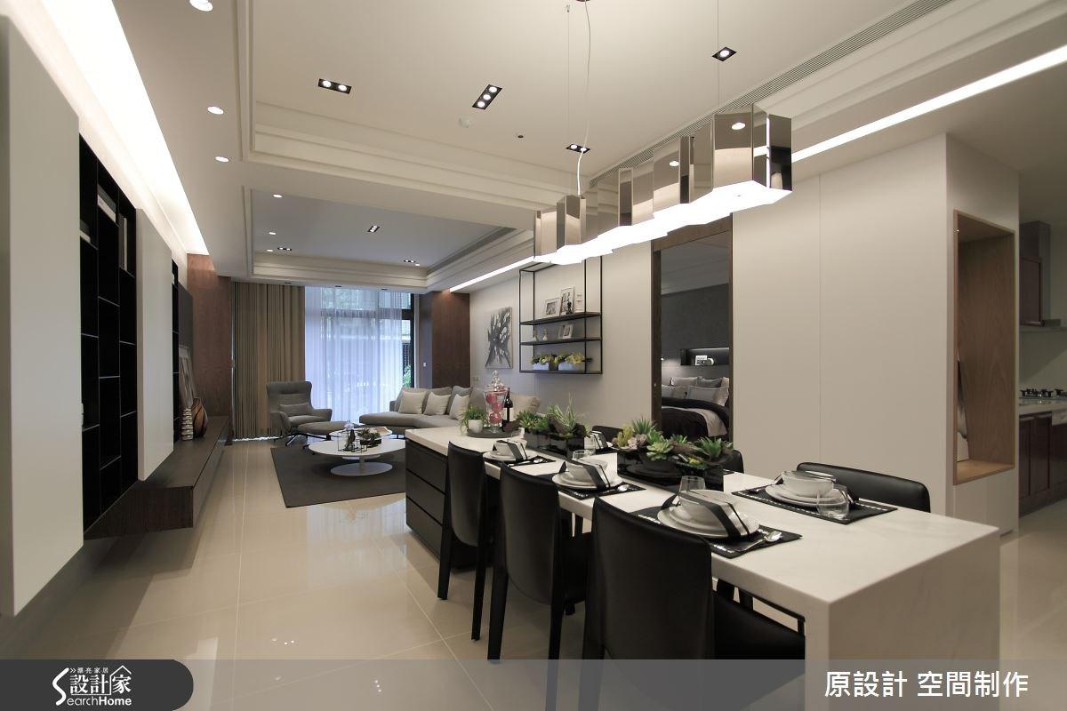 60坪新成屋(5年以下)_現代風餐廳案例圖片_原設計 空間制作_原設計_14之4