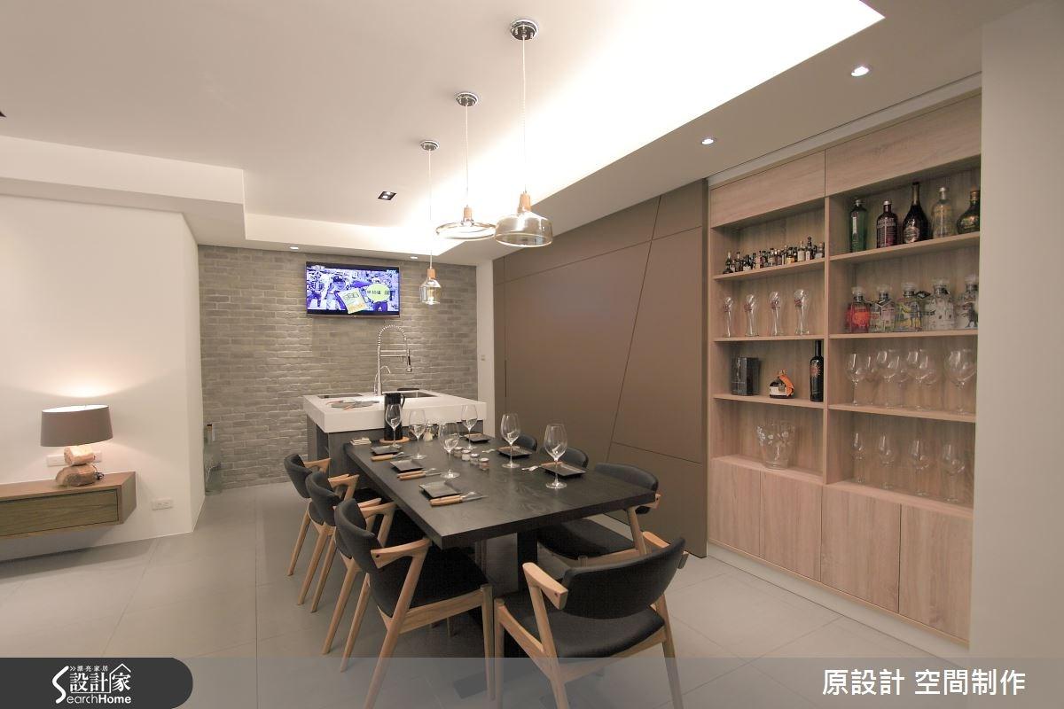 27坪老屋(16~30年)_現代風餐廳案例圖片_原設計 空間制作_原設計_15之3