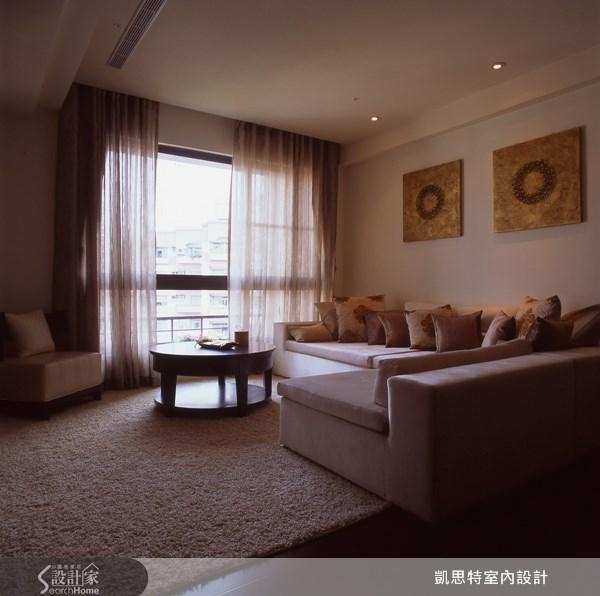 40坪新成屋(5年以下)_奢華風案例圖片_凱思特室內設計有限公司_凱思特_09之4
