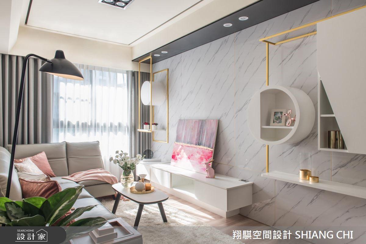 33坪新成屋(5年以下)_混搭風案例圖片_翔騏空間設計_翔騏_02之2