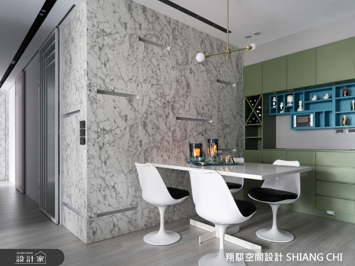 25坪新成屋(5年以下)_現代風餐廳案例圖片_翔騏空間設計_翔騏_03之4