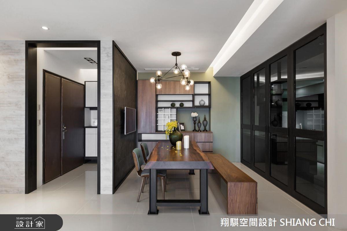 50坪新成屋(5年以下)_混搭風餐廳案例圖片_翔騏空間設計_翔騏_04之3