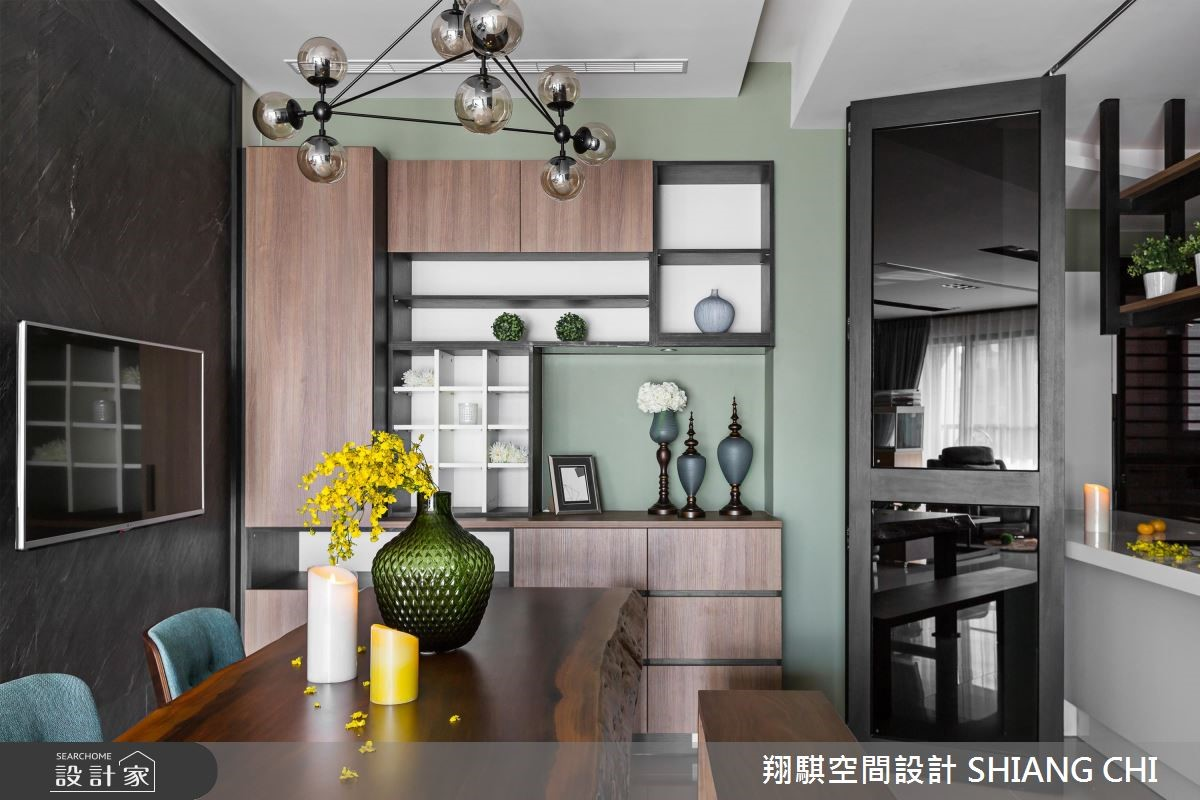 50坪新成屋(5年以下)_混搭風餐廳案例圖片_翔騏空間設計_翔騏_04之4