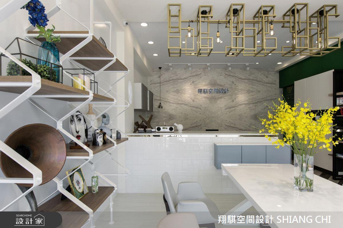 白淨現代風X輕盈空間感!打造設計師的美學場域
