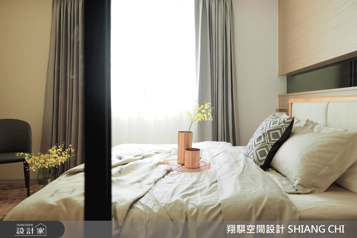 120坪新成屋(5年以下)_現代風臥室案例圖片_翔騏空間設計_翔騏_07之9