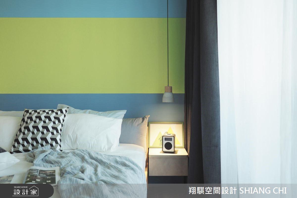 120坪新成屋(5年以下)_現代風臥室案例圖片_翔騏空間設計_翔騏_07之14