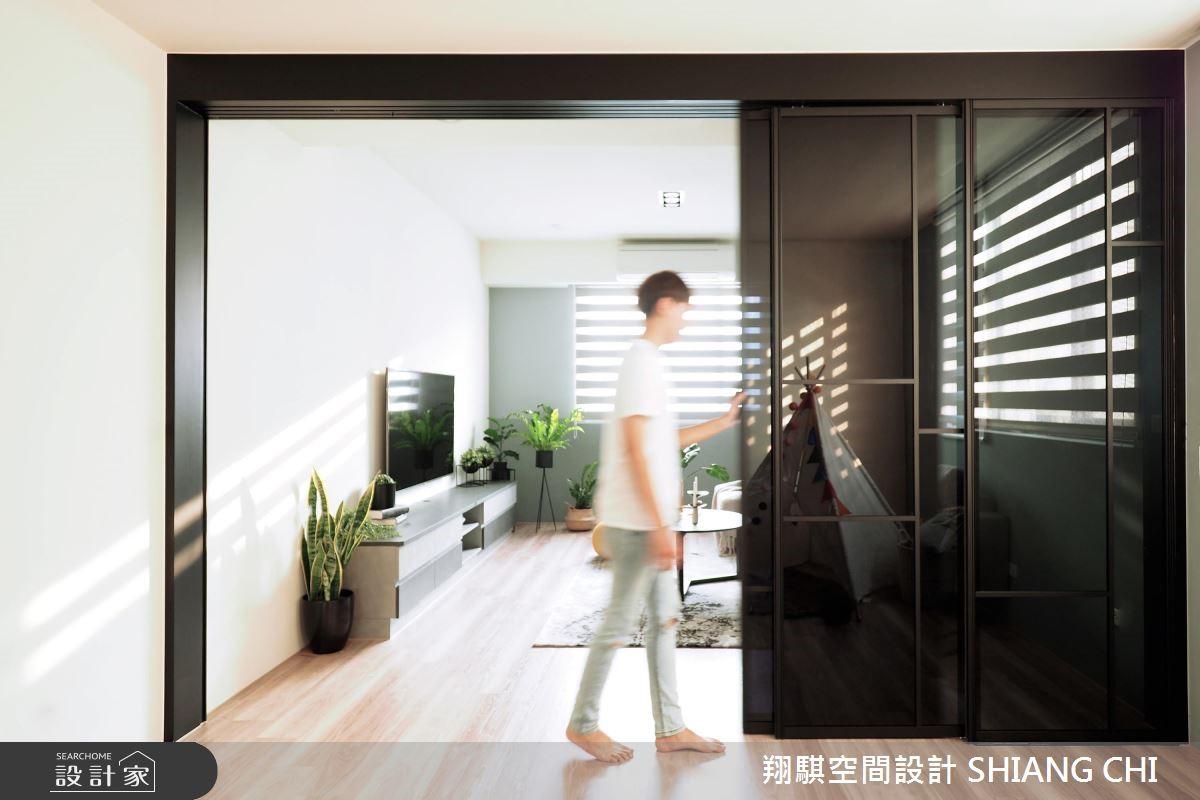 120坪新成屋(5年以下)_現代風客廳案例圖片_翔騏空間設計_翔騏_07之3