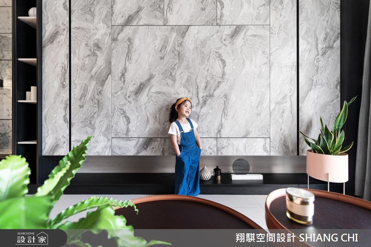 26坪新成屋(5年以下)_現代風客廳案例圖片_翔騏空間設計_翔騏_10之2