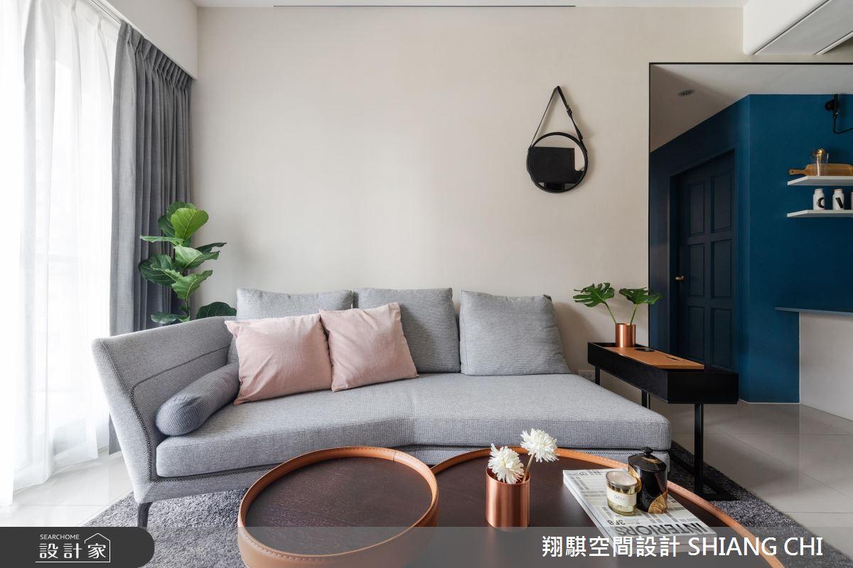 26坪新成屋(5年以下)_現代風客廳案例圖片_翔騏空間設計_翔騏_10之4
