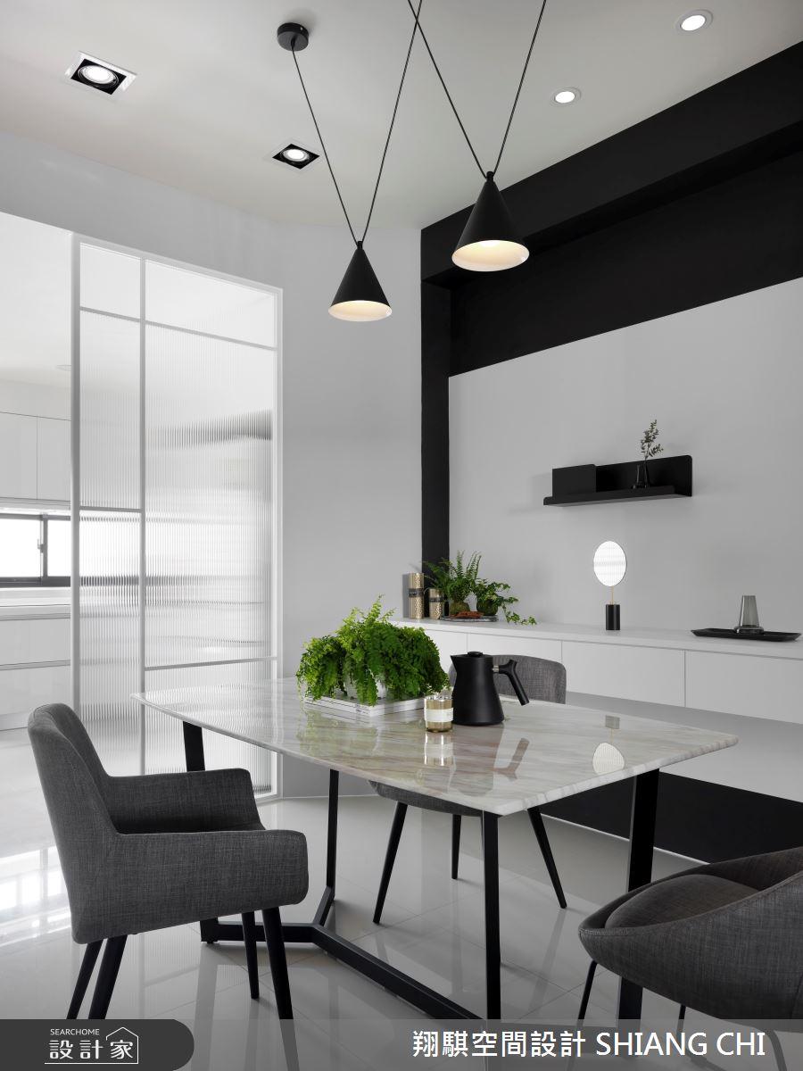 55坪新成屋(5年以下)_現代風餐廳案例圖片_翔騏空間設計_翔騏_11之3