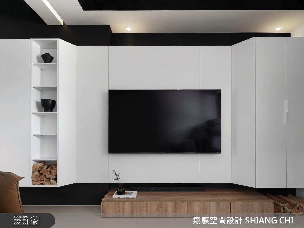55坪新成屋(5年以下)_現代風客廳案例圖片_翔騏空間設計_翔騏_11之4