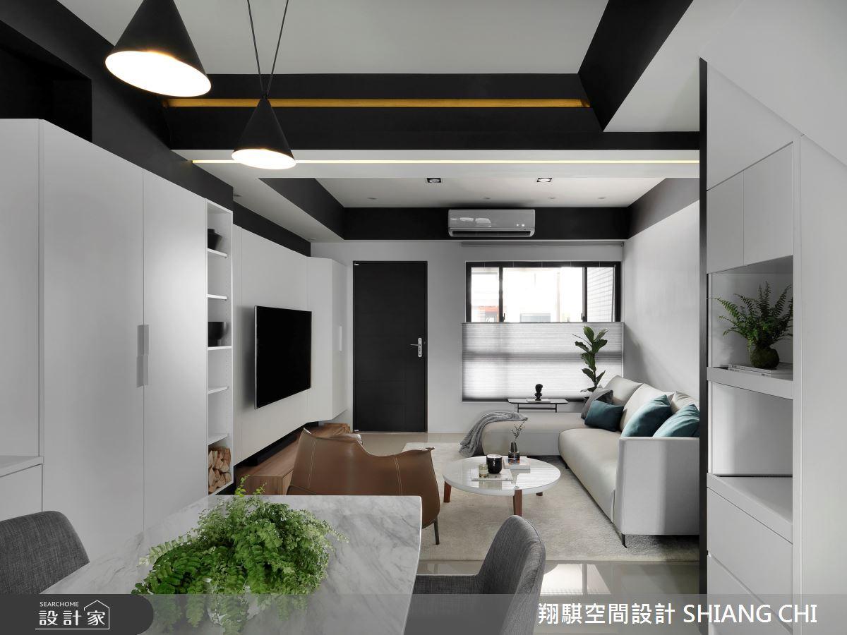 55坪新成屋(5年以下)_現代風客廳案例圖片_翔騏空間設計_翔騏_11之5