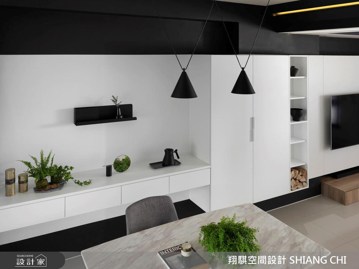55坪新成屋(5年以下)_現代風餐廳案例圖片_翔騏空間設計_翔騏_11之6