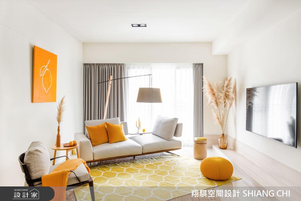 33坪新成屋(5年以下)_北歐風客廳案例圖片_翔騏空間設計_翔騏_12之4