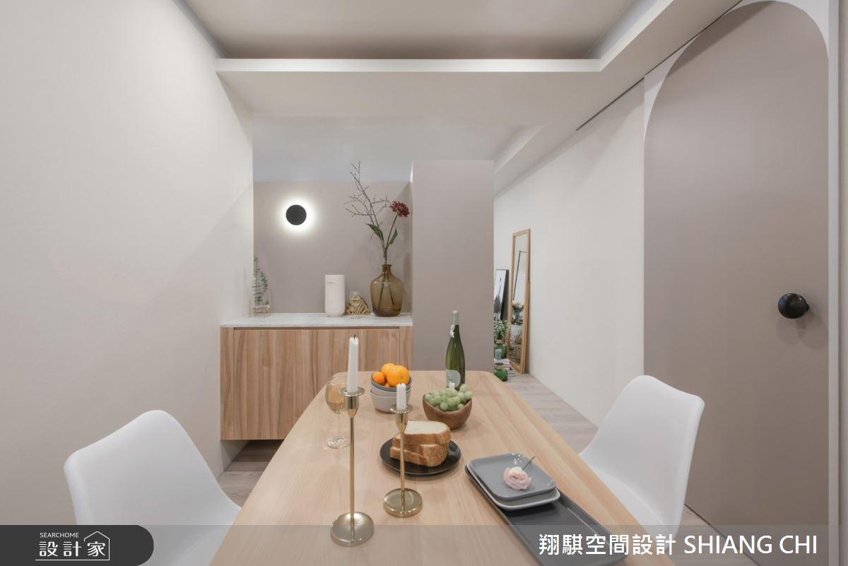 27坪新成屋(5年以下)_北歐風餐廳案例圖片_翔騏空間設計_翔騏_13之4