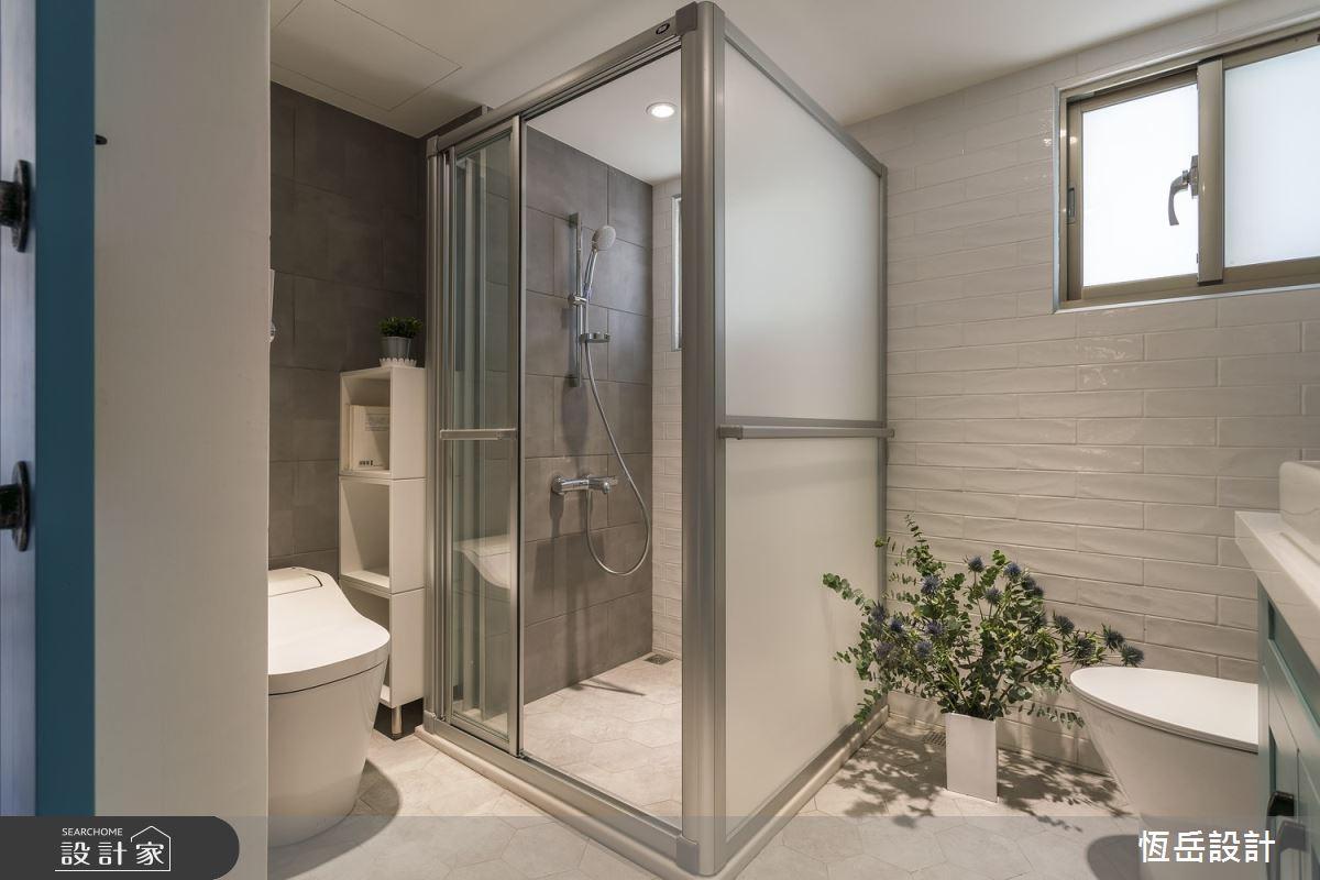 26坪老屋(16~30年)_混搭風浴室案例圖片_恆岳設計_恆岳_老屋重生之7