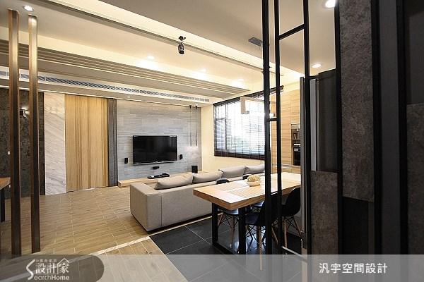 75坪新成屋(5年以下)_現代風案例圖片_汎宇空間設計有限公司_汎宇_02之1
