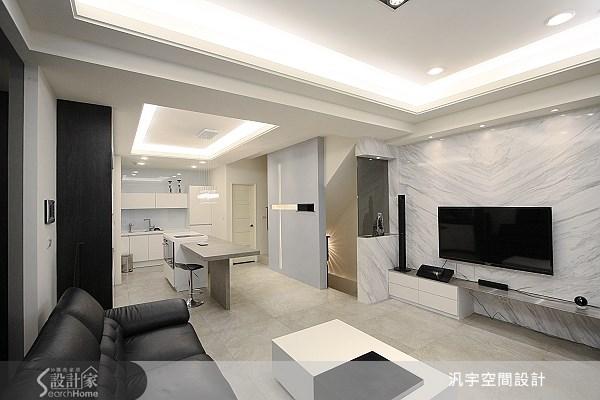 68坪新成屋(5年以下)_現代風案例圖片_汎宇空間設計有限公司_汎宇_01之2