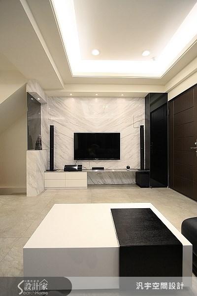 68坪新成屋(5年以下)_現代風案例圖片_汎宇空間設計有限公司_汎宇_01之4