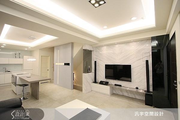 68坪新成屋(5年以下)_現代風案例圖片_汎宇空間設計有限公司_汎宇_01之3