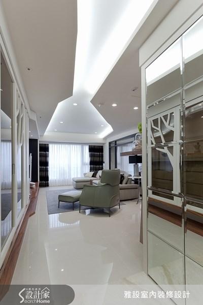 35坪中古屋(5~15年)_現代風案例圖片_雅設室內裝修設計有限公司_雅設_01之3