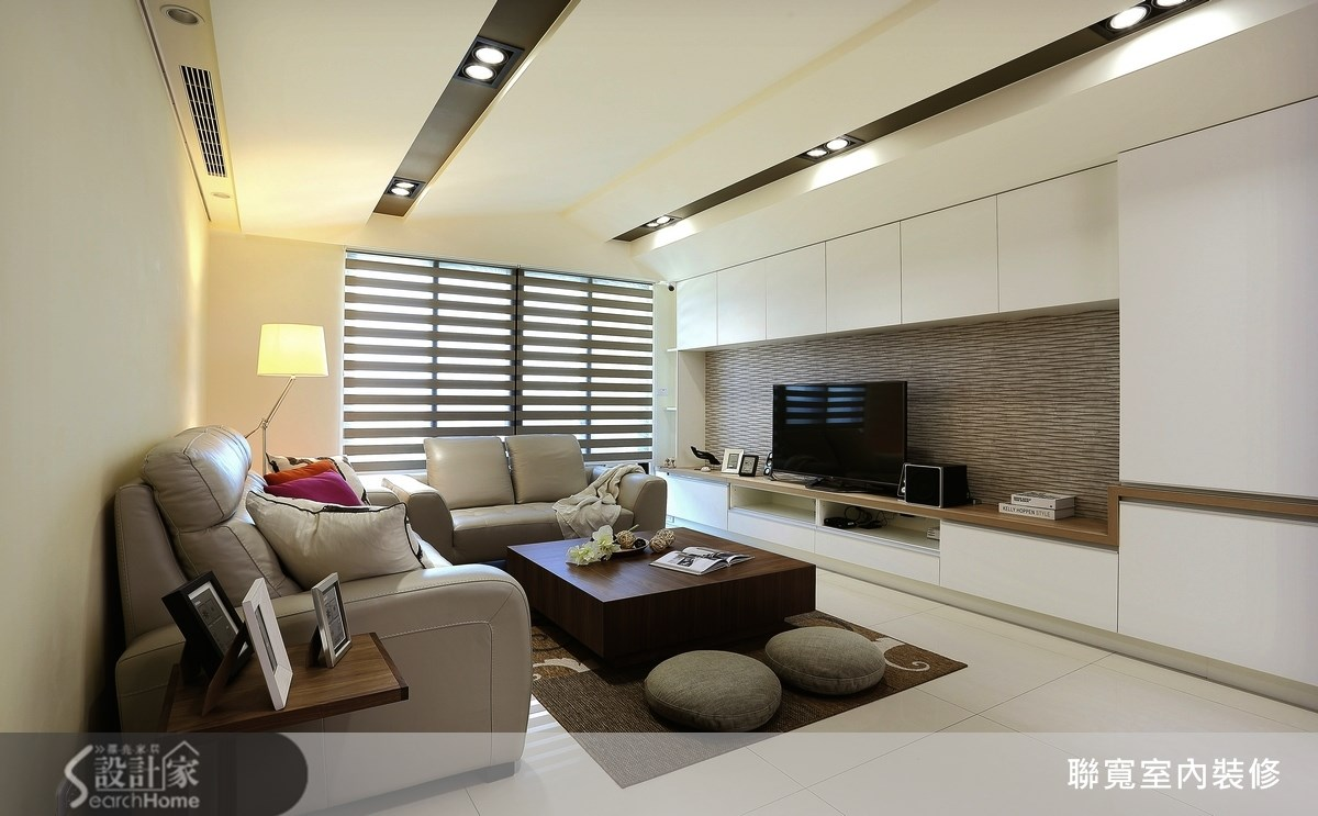 37坪新成屋(5年以下)_現代風客廳案例圖片_聯寬室內裝修有限公司_聯寬_03之3