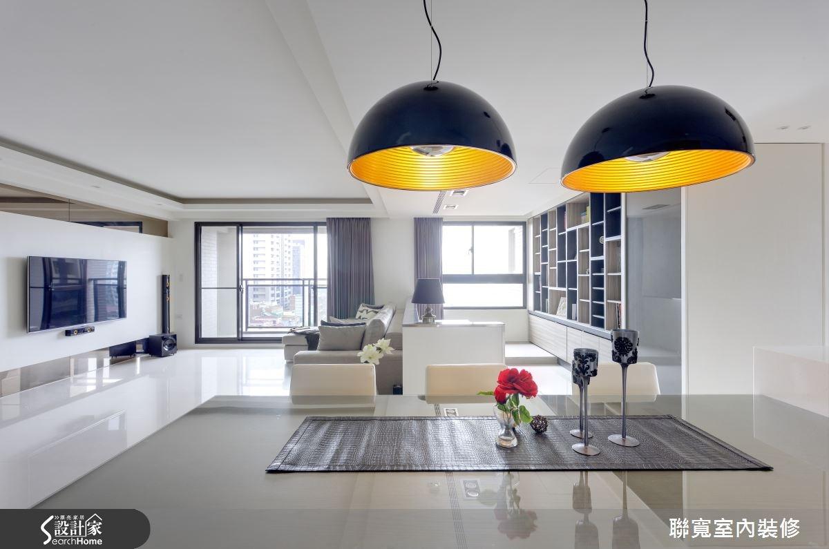 50坪新成屋(5年以下)_現代風餐廳案例圖片_聯寬室內裝修有限公司_聯寬_06之1
