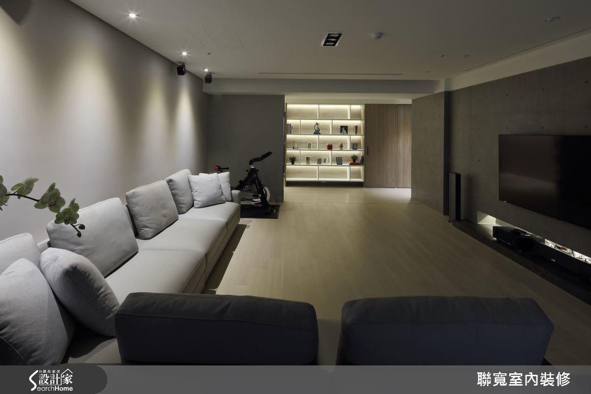 50坪新成屋(5年以下)_現代風客廳案例圖片_聯寬室內裝修有限公司_聯寬_15之3