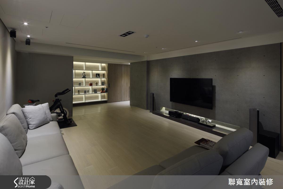 50坪新成屋(5年以下)_現代風客廳案例圖片_聯寬室內裝修有限公司_聯寬_15之4