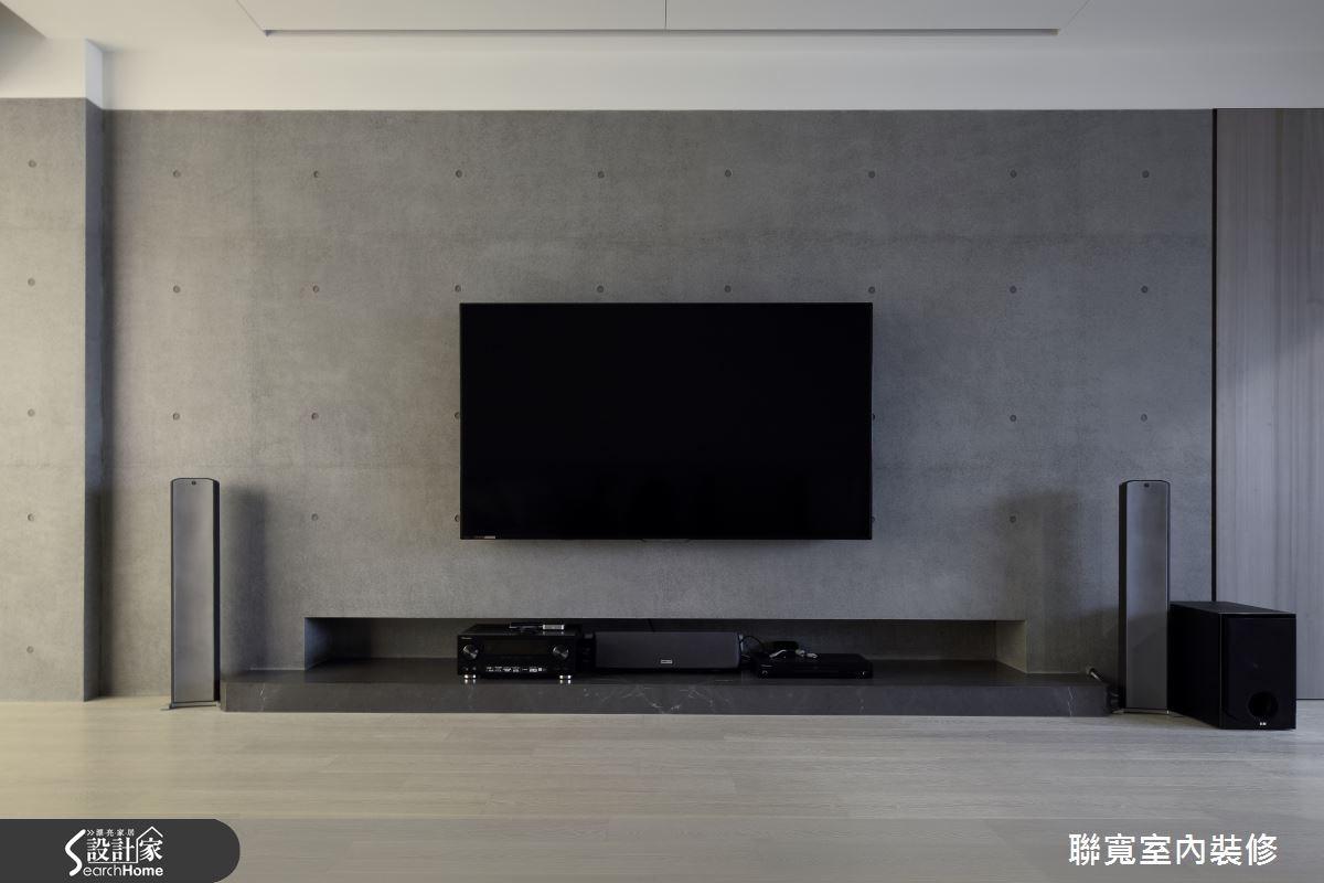 50坪新成屋(5年以下)_現代風客廳案例圖片_聯寬室內裝修有限公司_聯寬_15之5