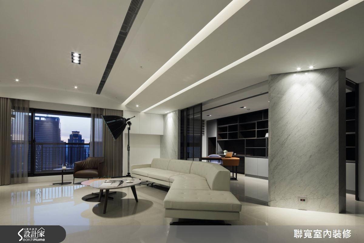 70坪新成屋(5年以下)_現代風客廳案例圖片_聯寬室內裝修有限公司_聯寬_16之2