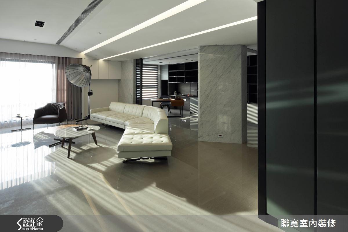 70坪新成屋(5年以下)_現代風客廳案例圖片_聯寬室內裝修有限公司_聯寬_16之4