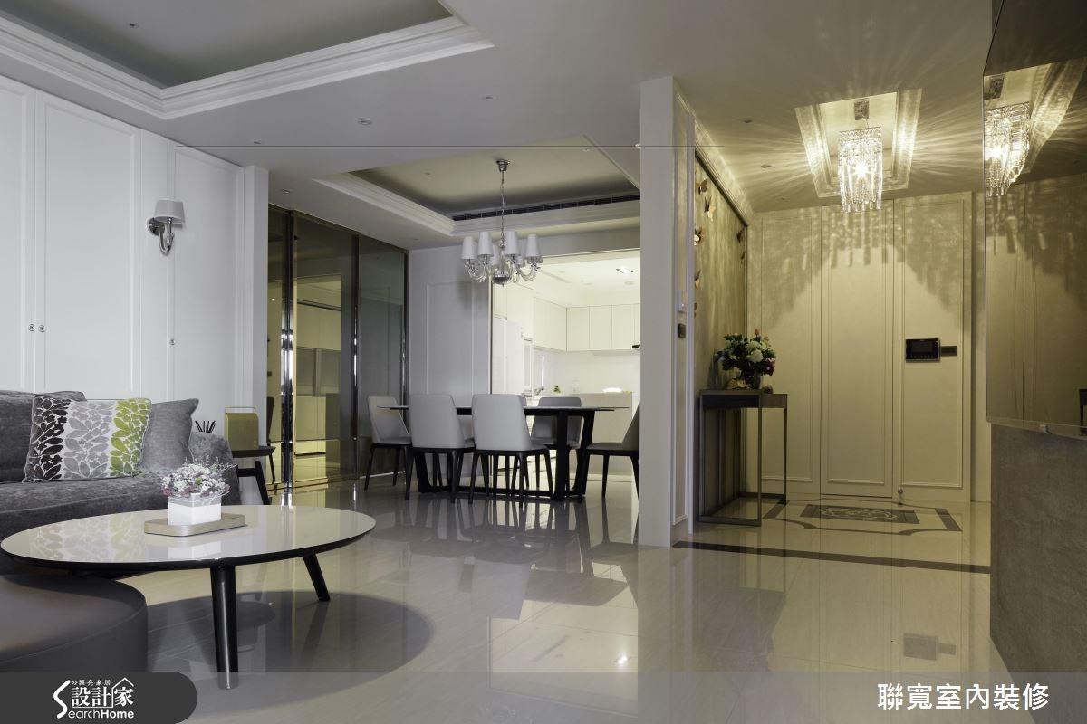 50坪新成屋(5年以下)_美式風客廳餐廳案例圖片_聯寬室內裝修有限公司_聯寬_17之6