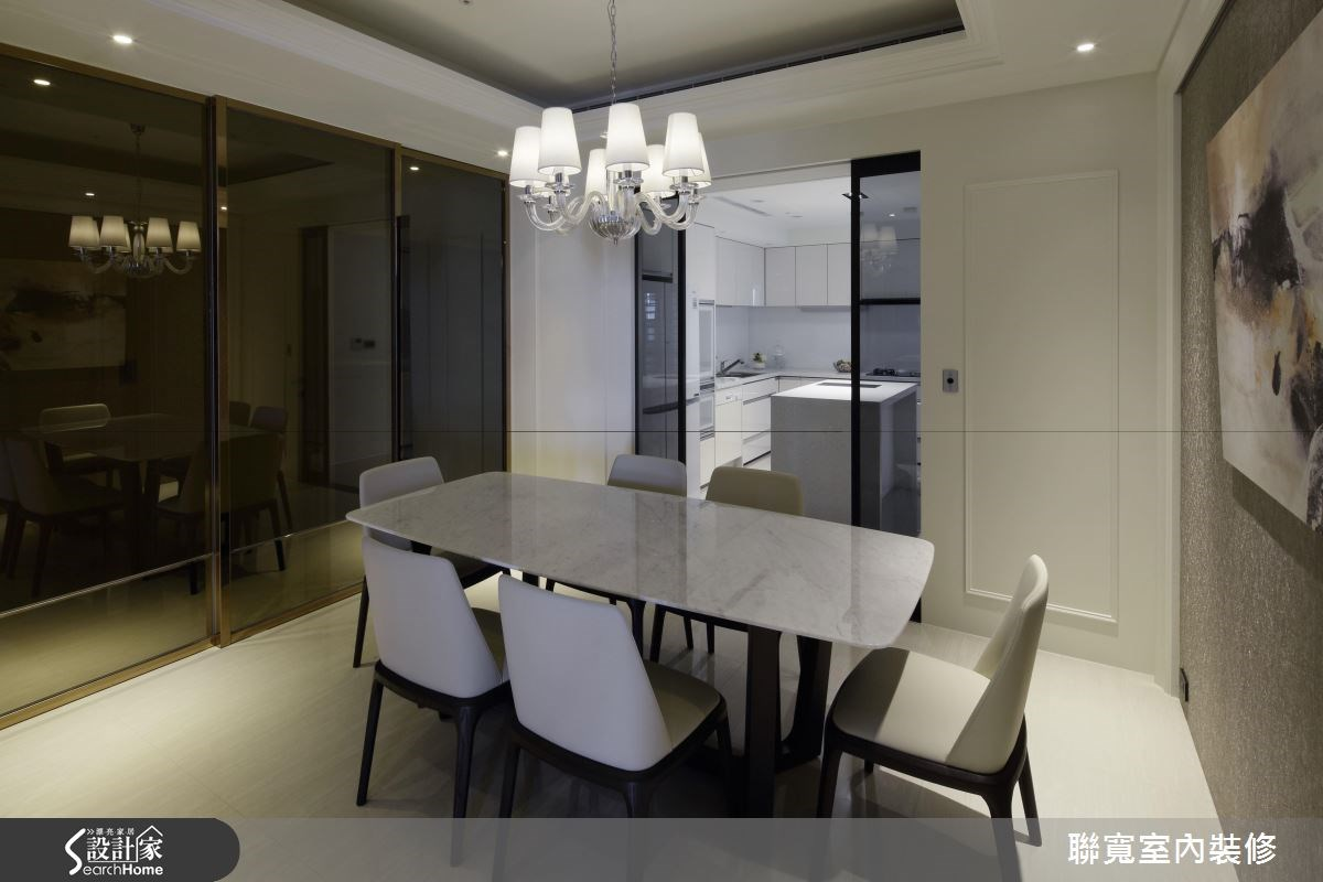50坪新成屋(5年以下)_美式風餐廳案例圖片_聯寬室內裝修有限公司_聯寬_17之8
