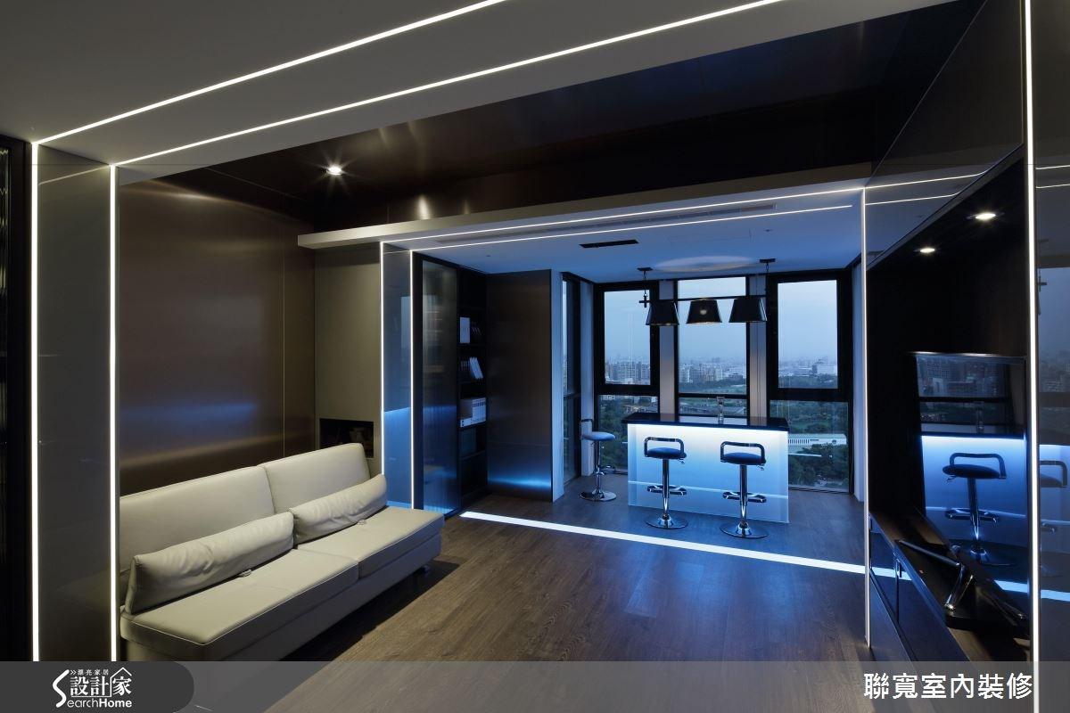 50坪新成屋(5年以下)_美式風吧檯案例圖片_聯寬室內裝修有限公司_聯寬_17之10