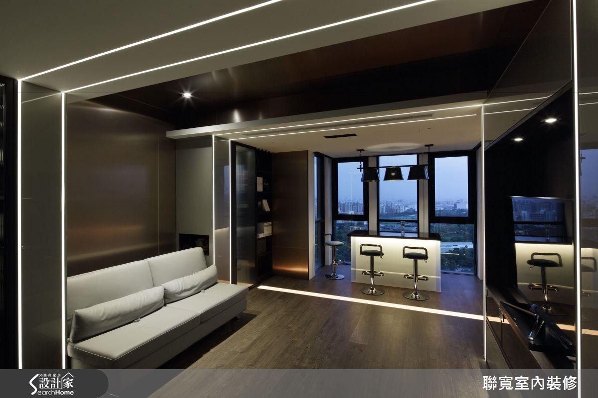 50坪新成屋(5年以下)_美式風吧檯案例圖片_聯寬室內裝修有限公司_聯寬_17之11