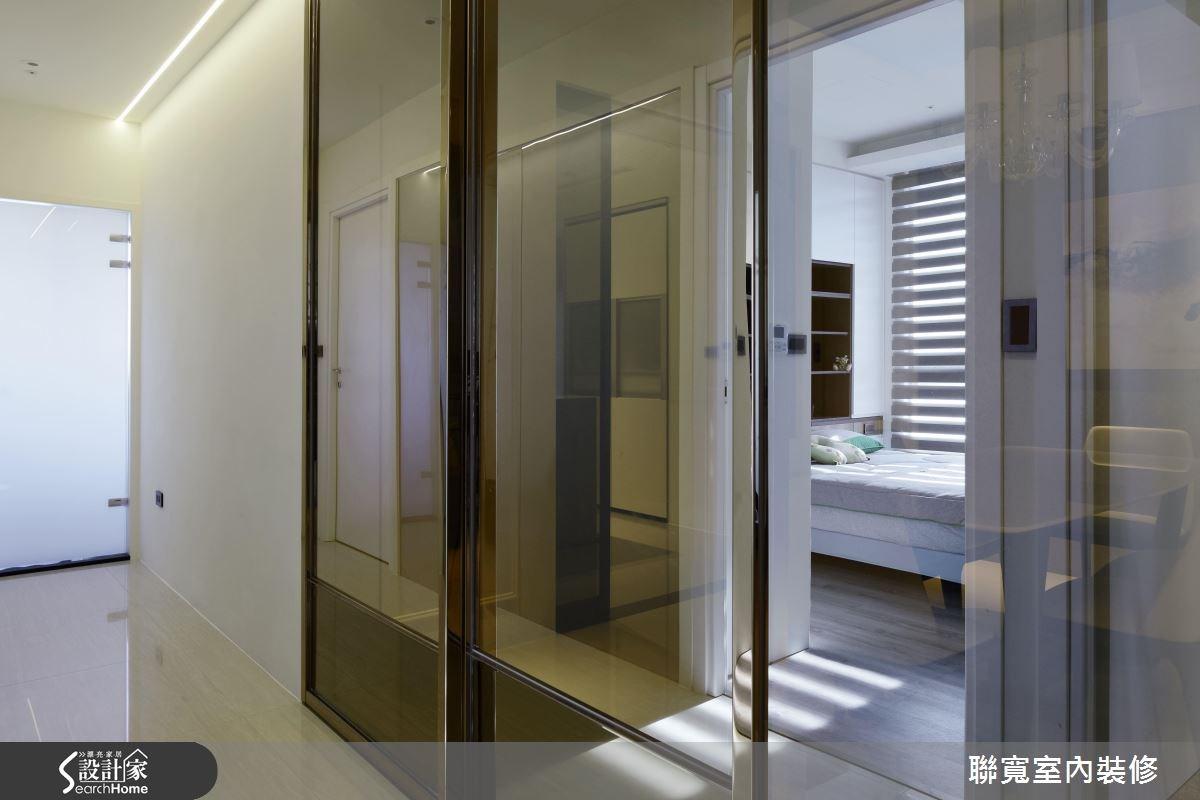 50坪新成屋(5年以下)_美式風走廊案例圖片_聯寬室內裝修有限公司_聯寬_17之16