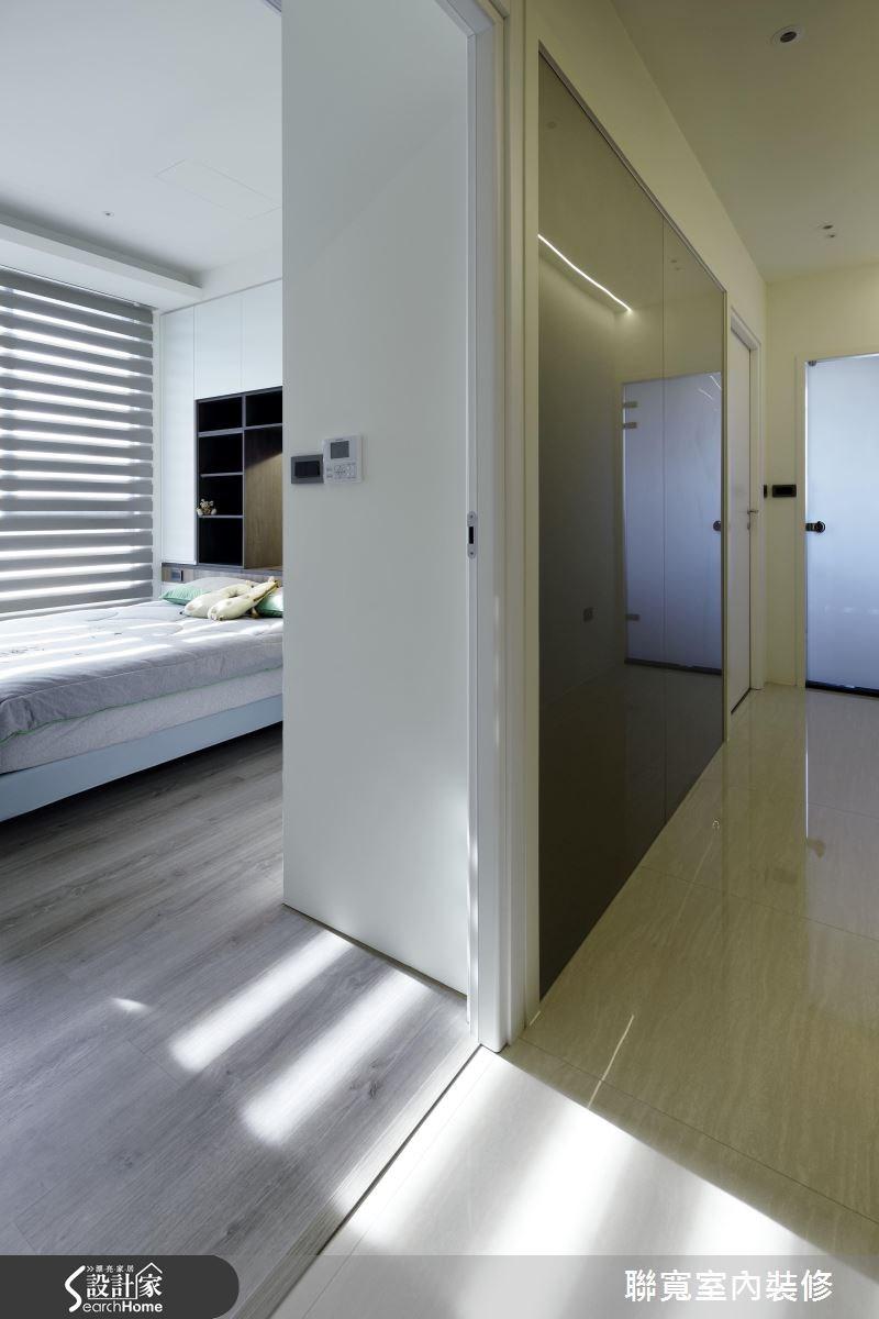 50坪新成屋(5年以下)_美式風臥室走廊案例圖片_聯寬室內裝修有限公司_聯寬_17之17
