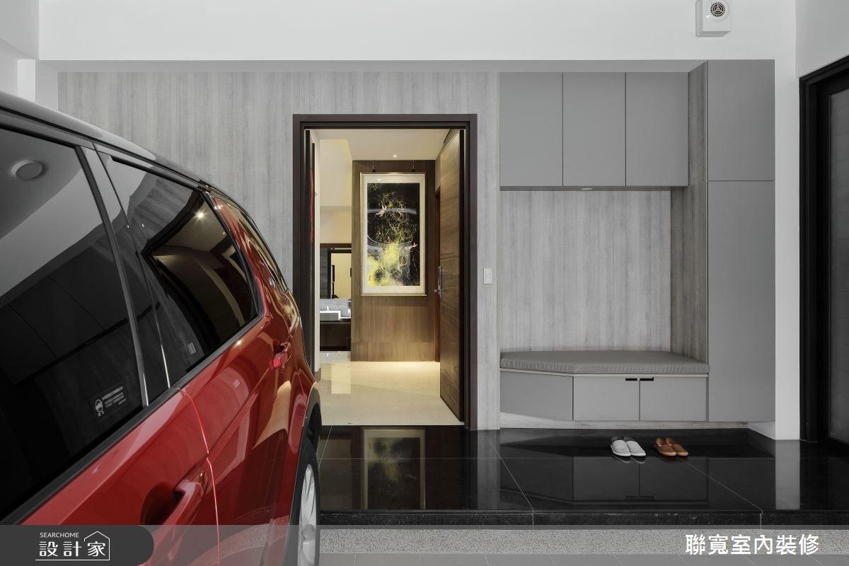 60坪新成屋(5年以下)_現代風玄關案例圖片_聯寬室內裝修有限公司_聯寬_19之1