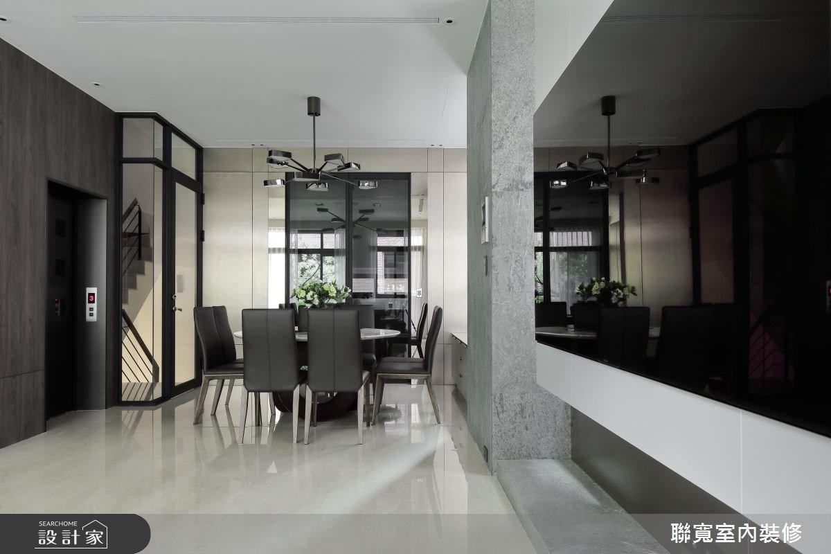 60坪新成屋(5年以下)_現代風餐廳案例圖片_聯寬室內裝修有限公司_聯寬_19之3