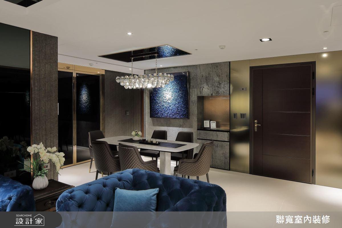 40坪新成屋(5年以下)_新古典餐廳案例圖片_聯寬室內裝修有限公司_聯寬_20之3