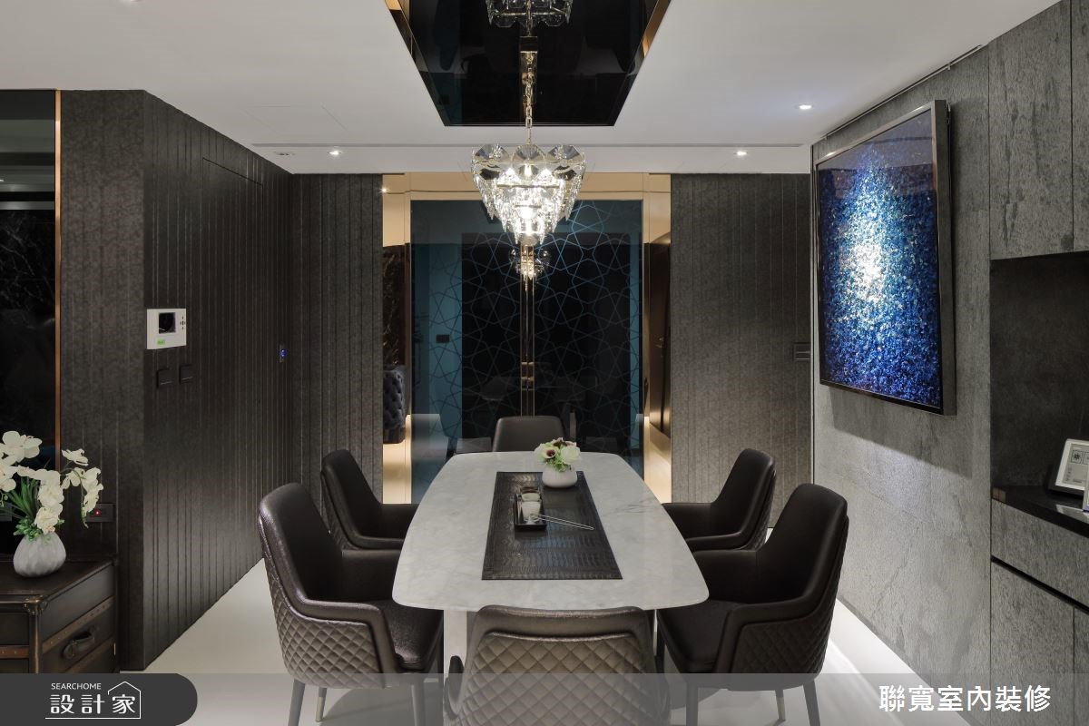 40坪新成屋(5年以下)_新古典餐廳案例圖片_聯寬室內裝修有限公司_聯寬_20之4