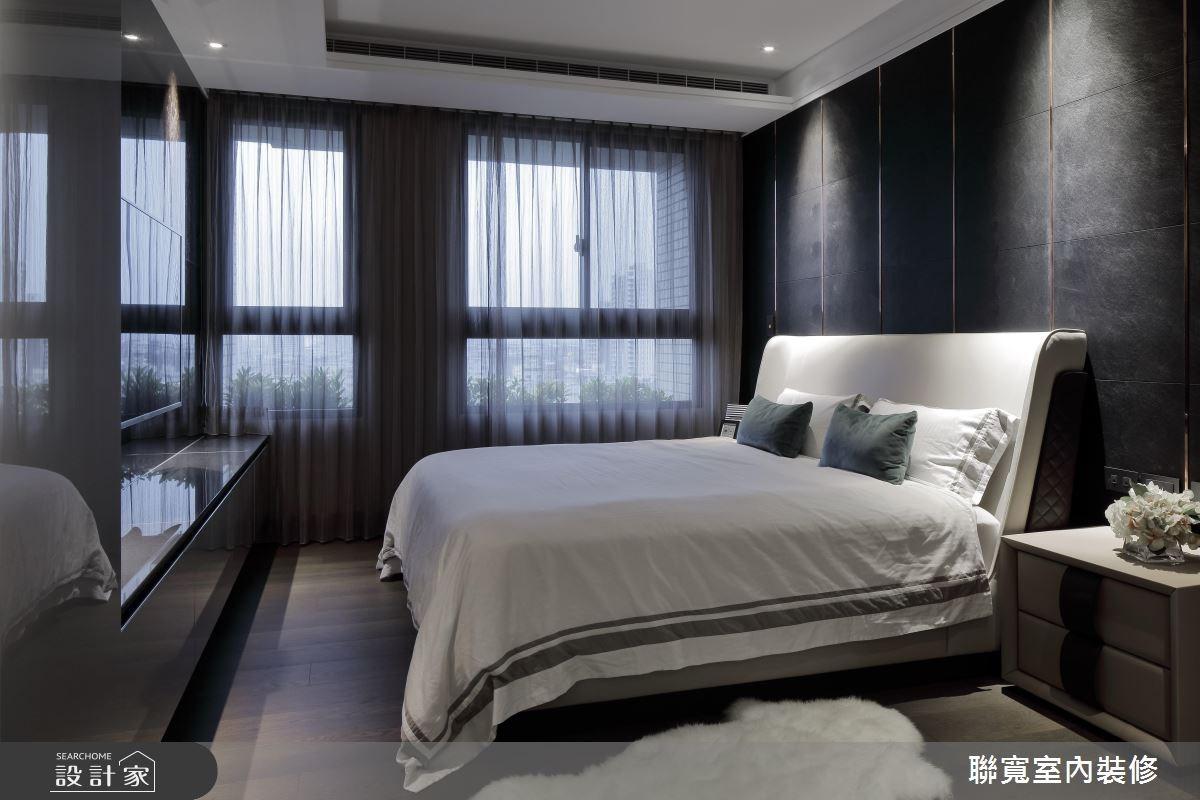 40坪新成屋(5年以下)_新古典臥室案例圖片_聯寬室內裝修有限公司_聯寬_20之6