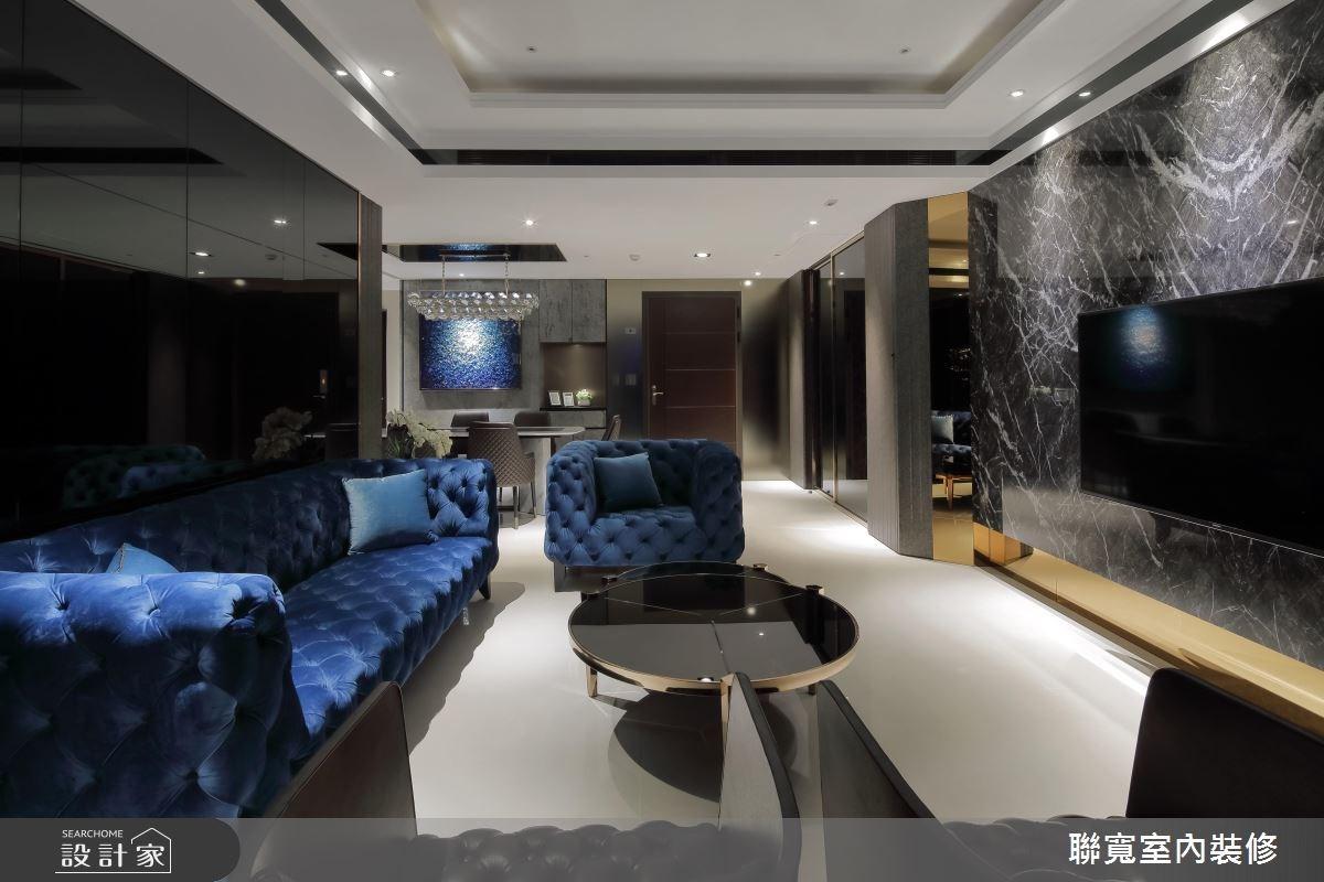 40坪新成屋(5年以下)_新古典客廳案例圖片_聯寬室內裝修有限公司_聯寬_20之8