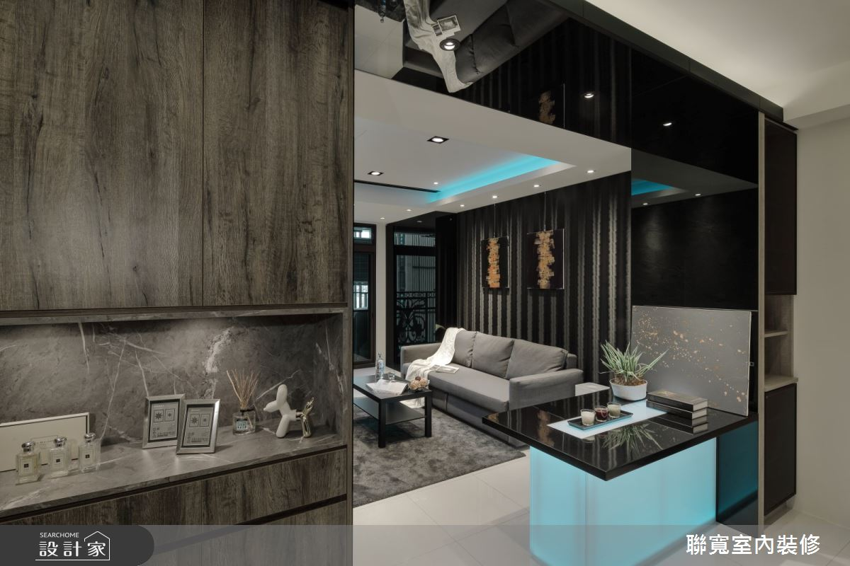 14坪預售屋_現代風客廳案例圖片_聯寬室內裝修有限公司_聯寬_25之1