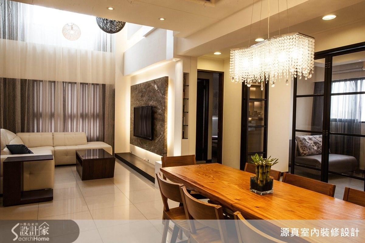 55坪新成屋(5年以下)_現代風案例圖片_源真室內裝修設計_源真_03之2