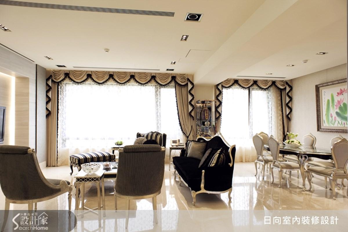 80坪新成屋(5年以下)_混搭風案例圖片_日向室內裝修設計有限公司_日向_11之5