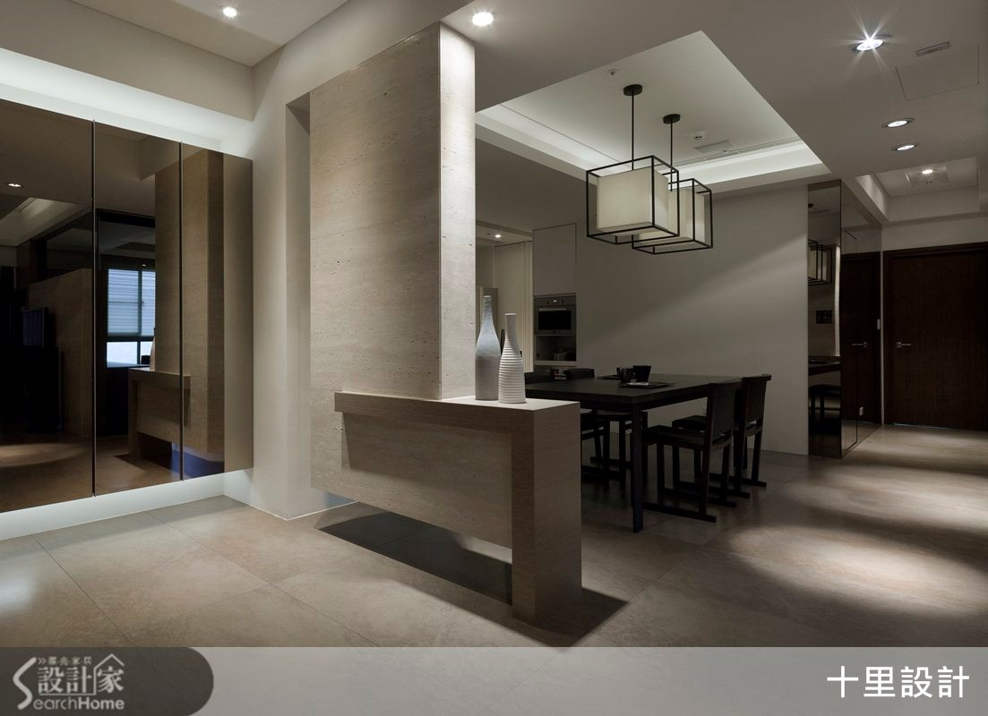 45坪預售屋_現代風玄關案例圖片_十里設計_十里_02之2