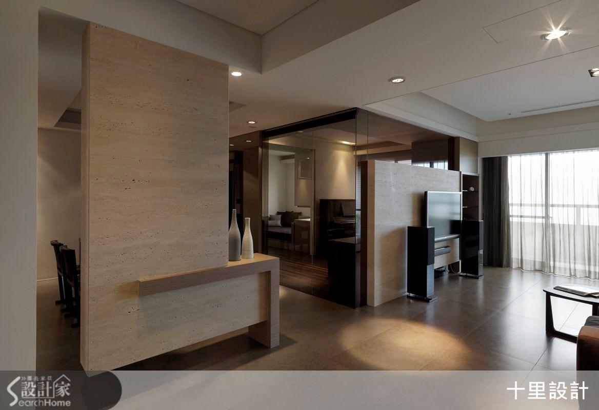 45坪預售屋_現代風客廳案例圖片_十里設計_十里_02之3